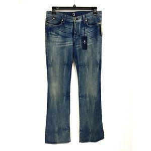 Rock & Republic Boot Cut Acid Wash Jeans